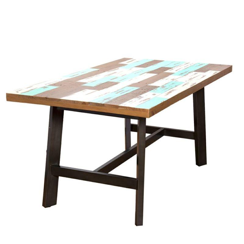 ダイニングテーブル アイアンレッグタイプ 160㎝ / 西海岸風インテリアのCosta Casa (コスタカーサ)