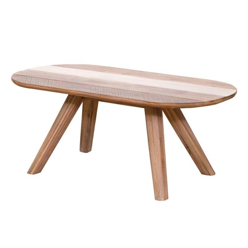 アカシア材独特の素朴な温かみを感じる MALIBU(マリブ) コーヒーテーブル 100